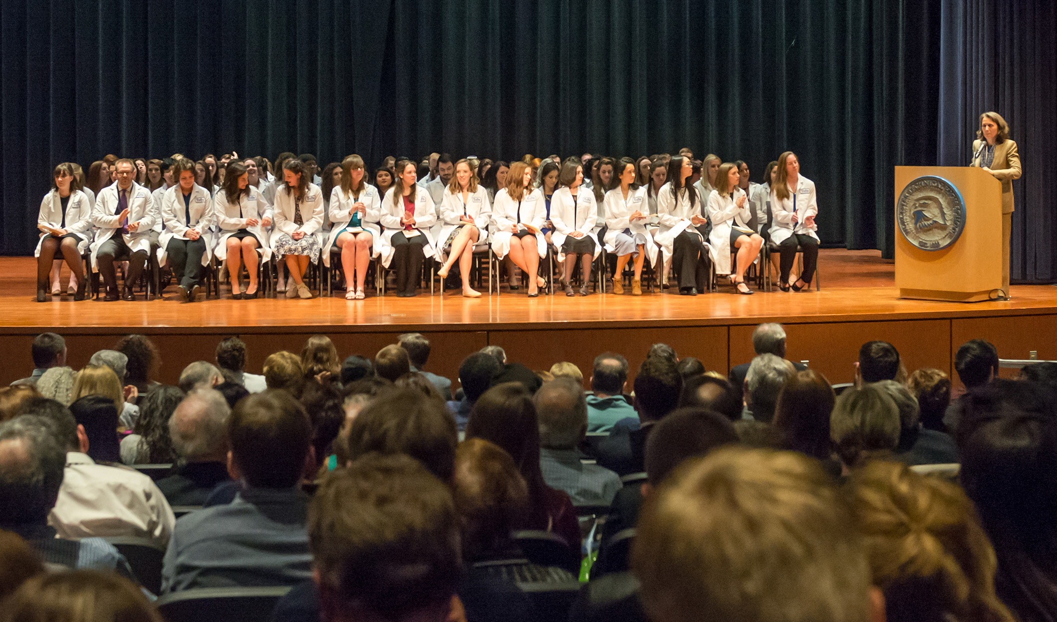 V18 White Coat Ceremony
