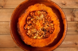 Image for People like giving pets pumpkin, but is it good for them?