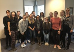 After her Animal Matters seminar, Nina Ekholm Fry met with MAPP students in the Animals & Society class