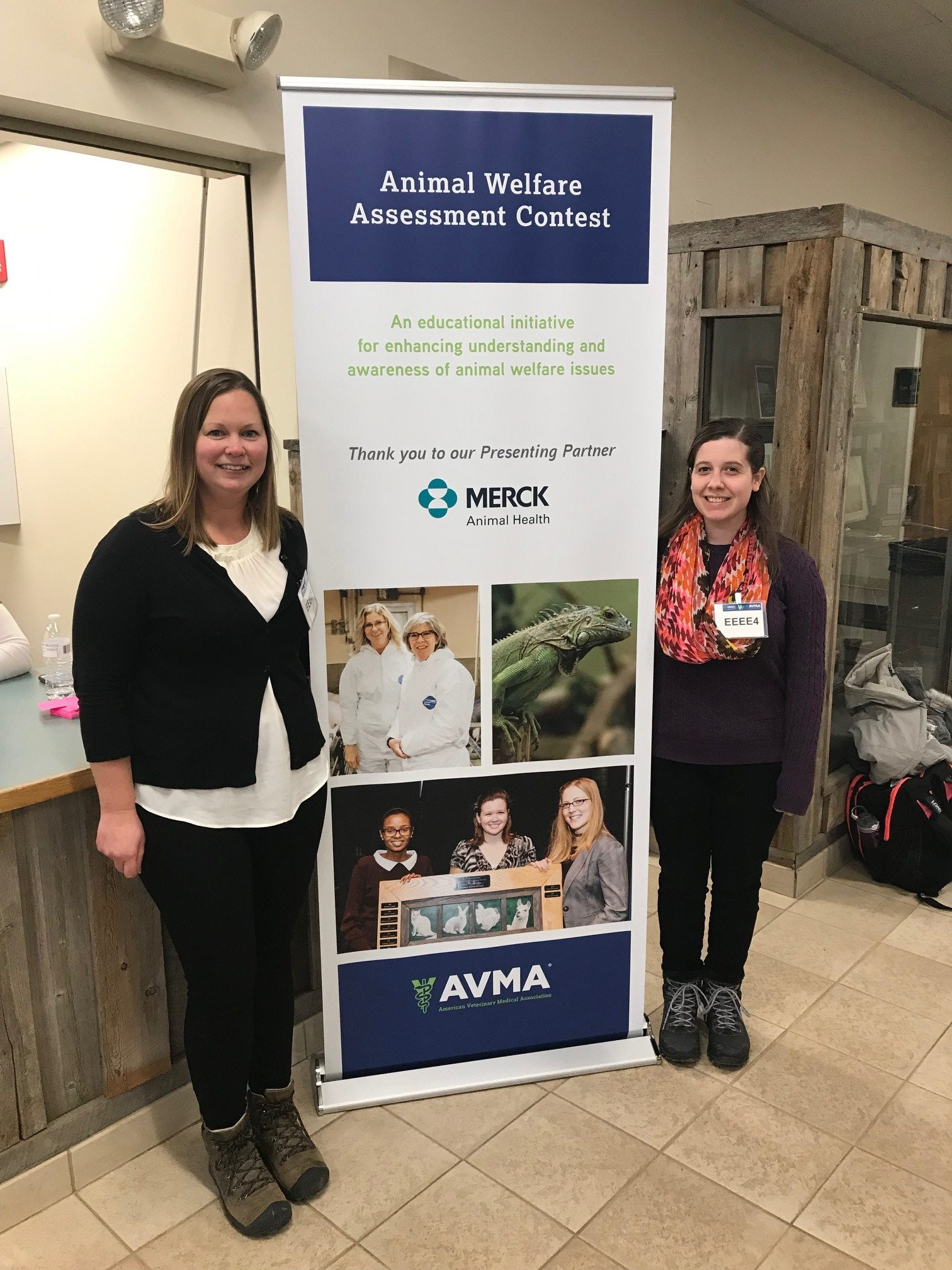 MAPP students, Jessica Baldeck and Alicia Pensarosa, went to AVMA's Animal Welfare Assessment Contest held at Colorodo State University (CSU)