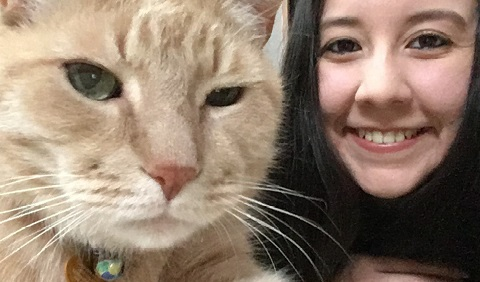 Podcast Interview with Bianca Leos, V'19 on Community Cats