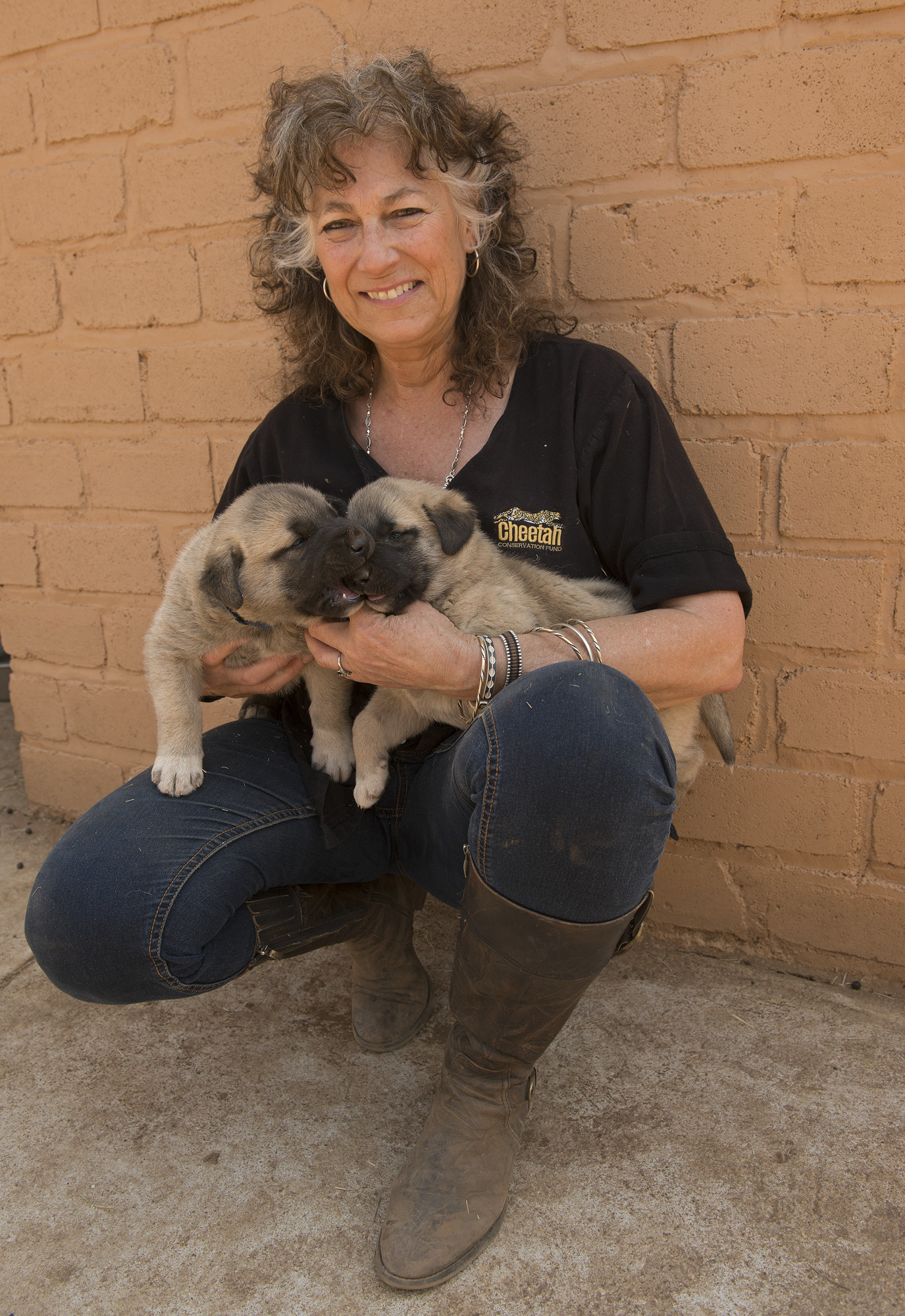 Dr. Laurie Marker, Founder and Executive Director, Cheetah Conservation Fund (CCF.) 2019 is CCF's 25th Anniversary of the Livestock Guarding Dog program.