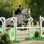 18-year-old Emma Fletcher and her Argentinian warmblood competing in the Big Equitation