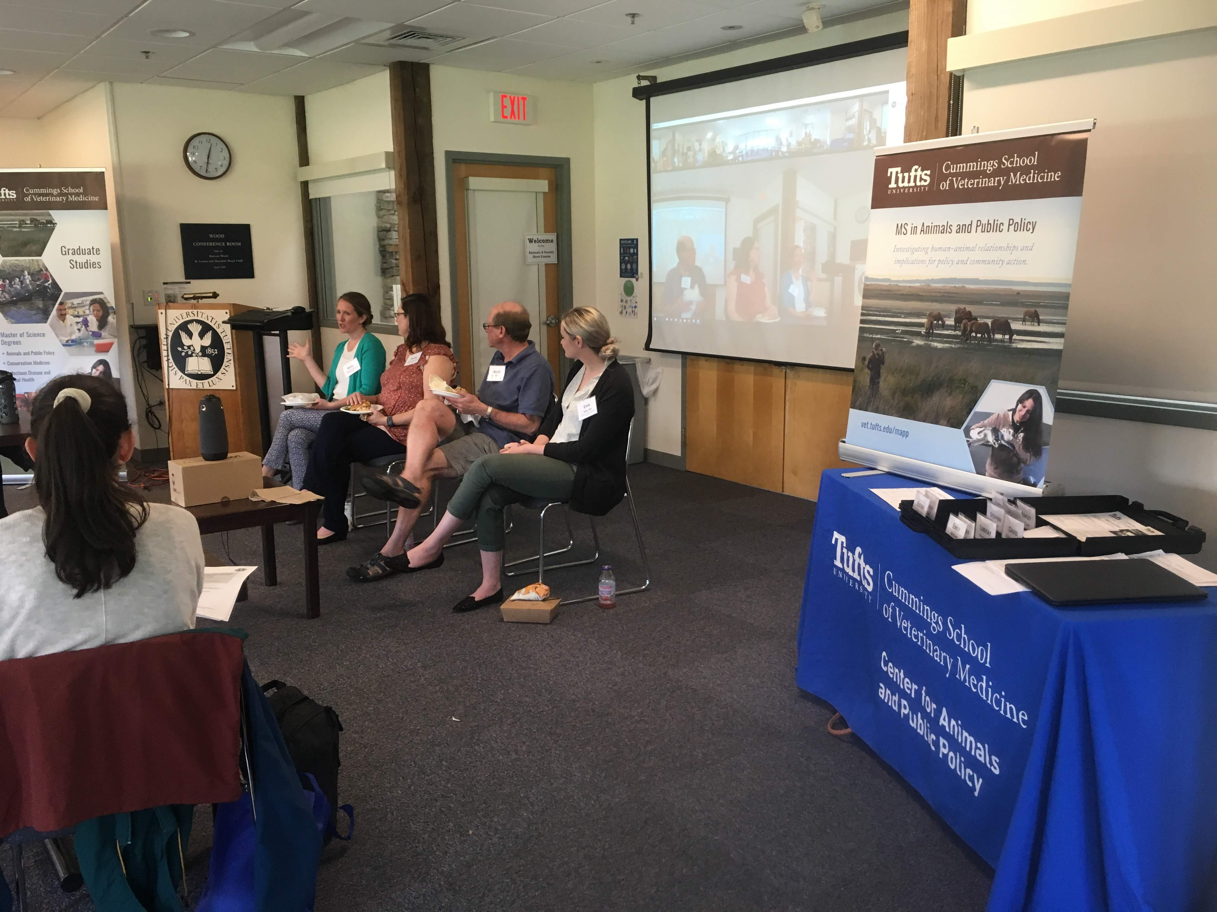 MS in Animals and Public Policy faculty and alumni spoke about Career Pathways in Animals and Public Policy