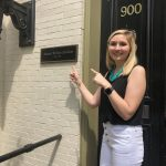 Allison Ludtke, MAPP class 2018-2019 at her externship at the Animal Welfare Institute