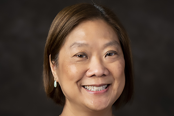Dr. Florina S Tseng, Professor and Associate Dean for Diversity, INclusion, Equity and Climate at the Cummings School of Veterinary Medicine at Tufts University, poses for a portrait