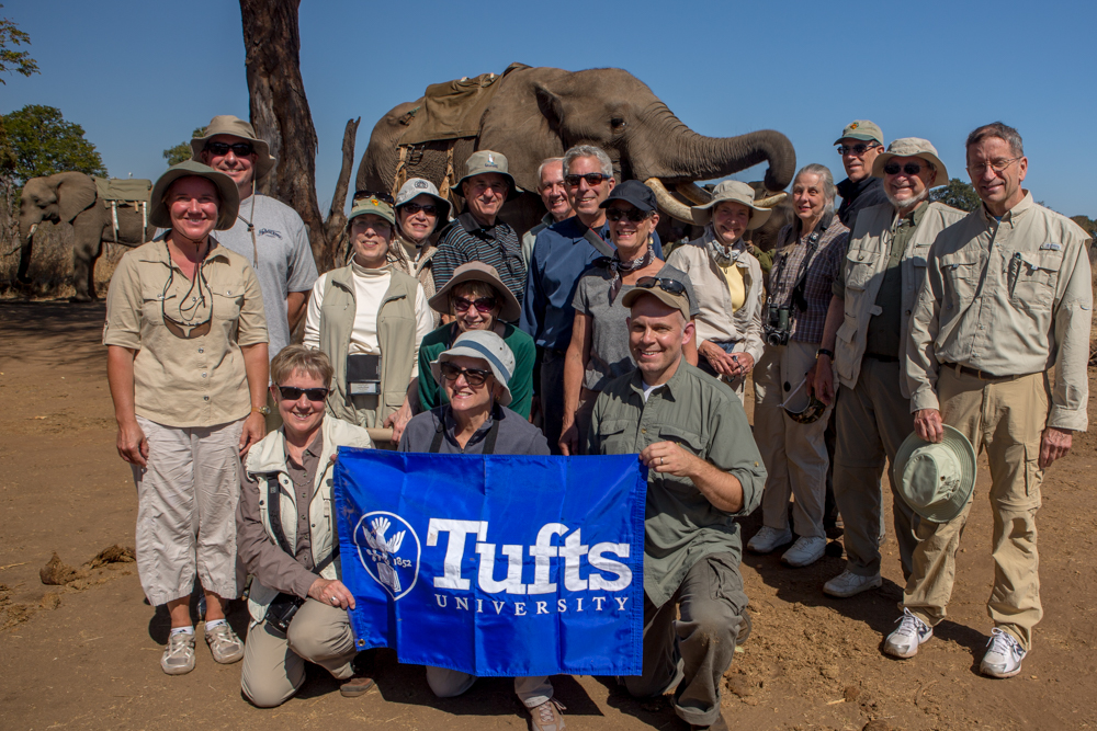 Participants - Tufts Travel and Learn Africa Trip - Photo (c) 2104 C. Whittier