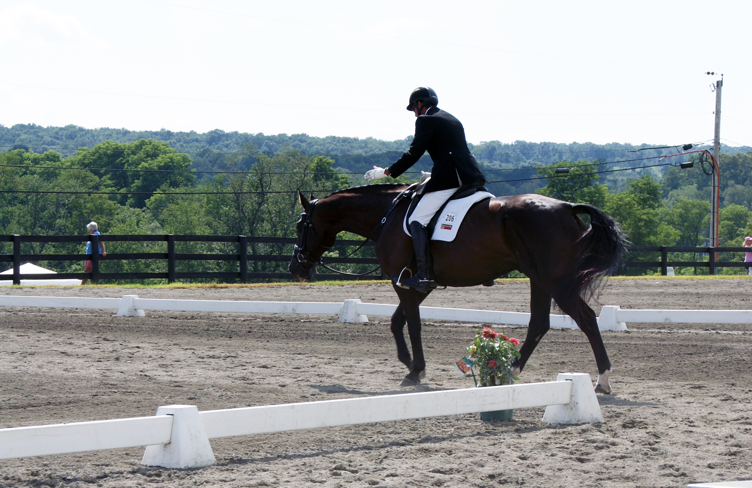 Setting attainable goals before forming a conditioning program will help  keep you and your horse happy