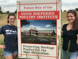 Maxine Young (MAPP 2016-2017 class) and Melissa Hoffman (MAPP 2014-2015 class) with Farm Foward's Jewish Initiative for Animals