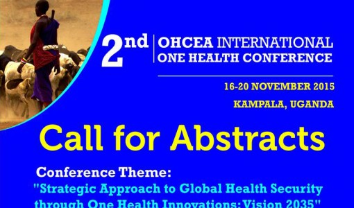 Call for Abstracts: 2nd OHCEA International One Health Conference