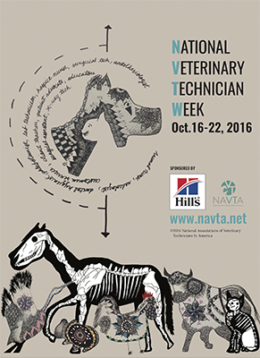 National Veterinary Technician Week 2016